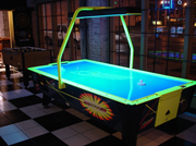 Air Hockey Table with Overhead Scoring
