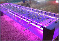 12-ft Classic Team Foosball Table   with color changing LED Lights