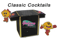 Cocktail Table Style Arcade Game