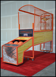 Super Shot Commercial Grade Basketball Game with moving backboard