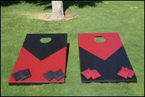 Giant Cornhole / XL Bean Bag Toss Game  (2pcs/set)
