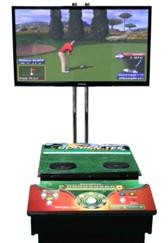 """2014 Golden Tee Golf Game w/ 50"""" Screen"""