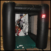 Inflatable Baseball Speed Pitch Game