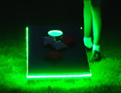 Std Size Corn Hole / Bean Bag Toss Game (2pcs/set)   with color changing LED Lights