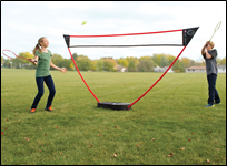 4-player Badminton Sports Set  (Portable Court)