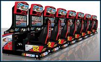 Linkable NASCAR Racing    Arcade Game