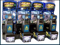 Linkable Rush 2049    Racing Arcade Game