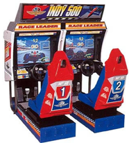 2-player Indy500 Linkable Racing Game