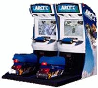 Linkable Arctic Thunder Snowmobile Racing Game
