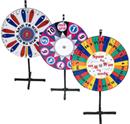 "Optional Custom Graphics Overlay for    42"" Diameter Prize Wheel / Wheel of Fortune"