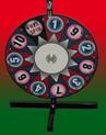 "Optional Custom Graphics Overlay for    24"" Diameter Prize Wheel / Wheel of Fortune"