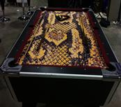 Masterpiece Pool Table - Snake Skin Print