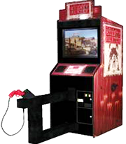 Bounty Hunter Shooting Arcade Game