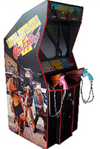 Gunfighters / Lethal Enforcers Shooting Arcade Game