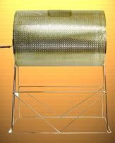 Large Brass Floorstanding Raffle Drum