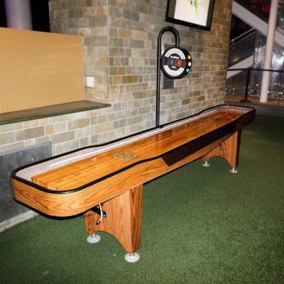 12-ft Shuffleboard Table w/ Electronic Scoring
