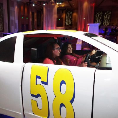 Two Player NASCAR Simulator
