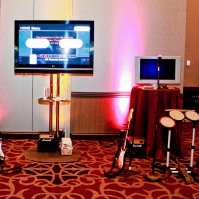 Rock Band w/ Marshall Stack Speakers (Up to 4 Hours w/ Attendant)