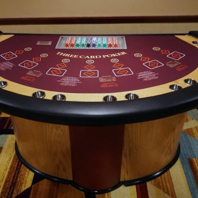 3 Card Standard Poker Table (Up to 4 Hours w/ Dealer)