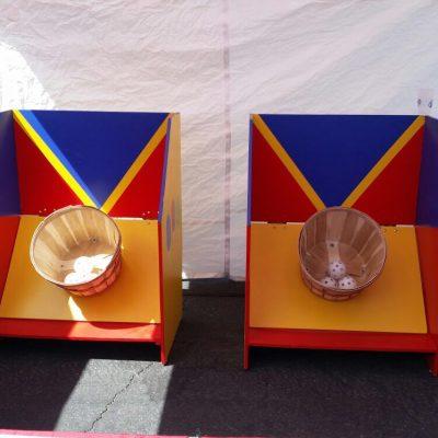 Bushel Basket Toss (Up to 4 Hours w/ Attendant)