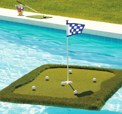 Golf Floating Chipping Game
