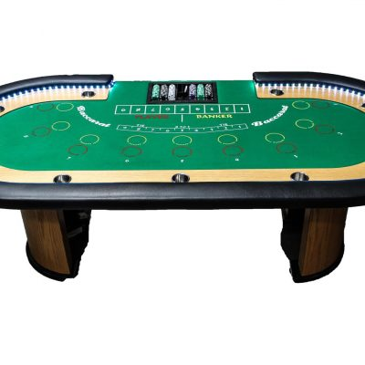 Standard Baccarat Table (Up to 4 Hours w/ Dealer)